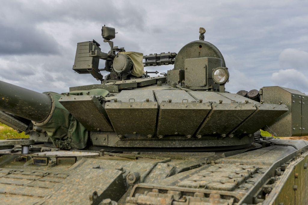 Танк Т-80БВМ. Серпень 2020. Фото: ЗМІ РФ