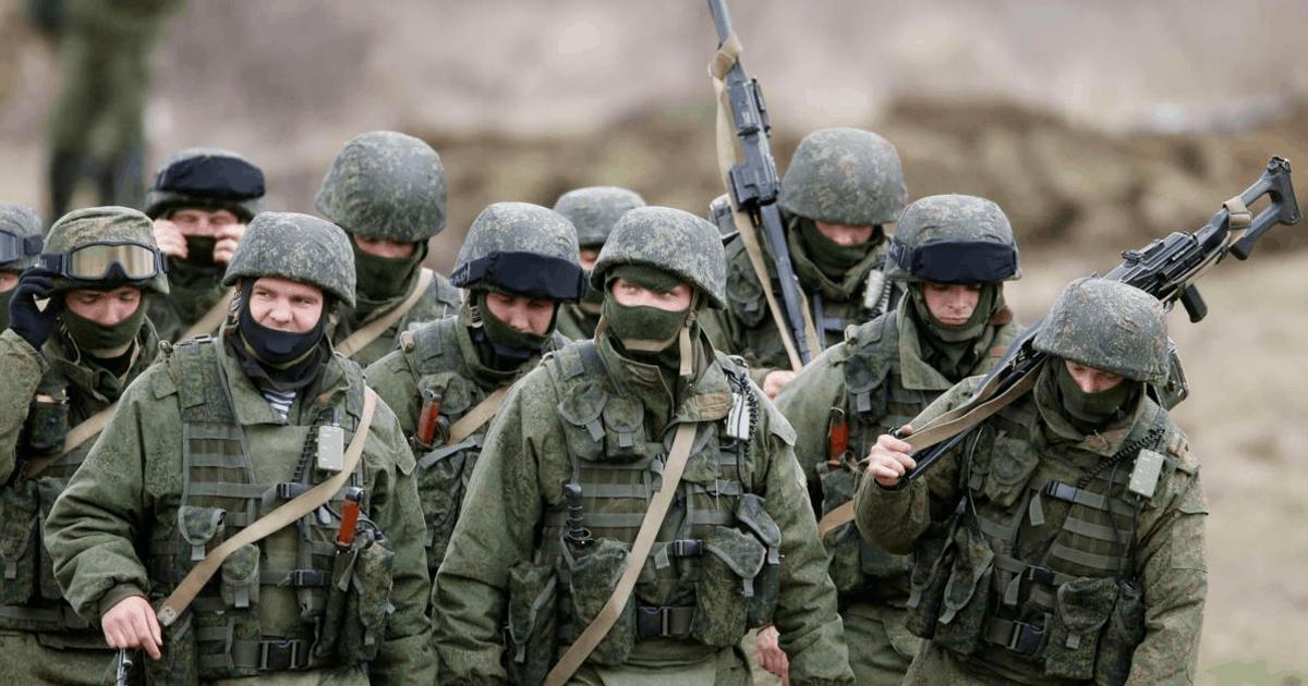 Ілюстрація до новини. Військові Росії.