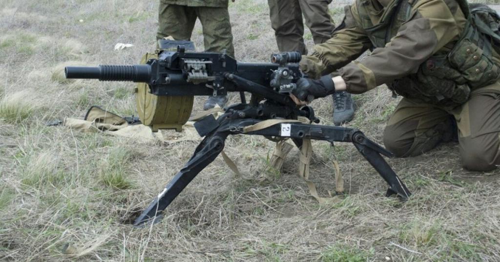 Поблизу Авдіївки окупанти відкрили вогонь по ЗСУ. АГС-17 - 30-мм станковий автоматичний гранатомет. Фото з відкритих джерел