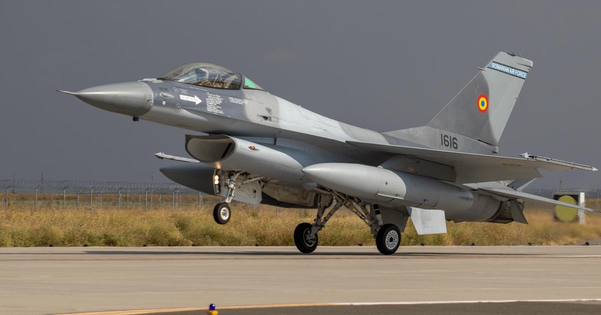 F-16 «Fighting Falcon» №1616 ВПС Румунії. Серпень 2020. Фото: МО Румунії