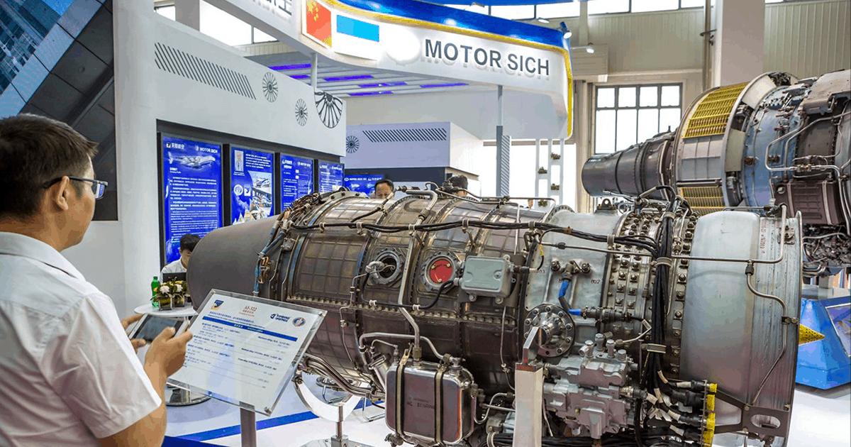 Продукція «Мотор Січ» на виставці Фото з відкритих джерел