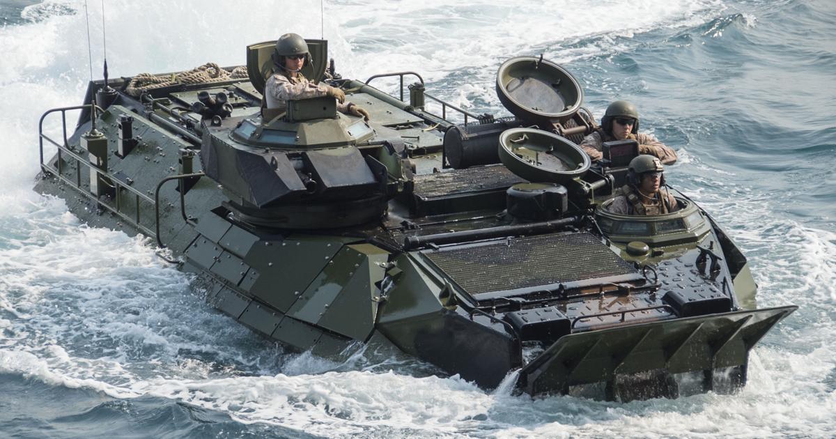Assault Amphibious Vehicle (AAV). Фото з відкритих джерел