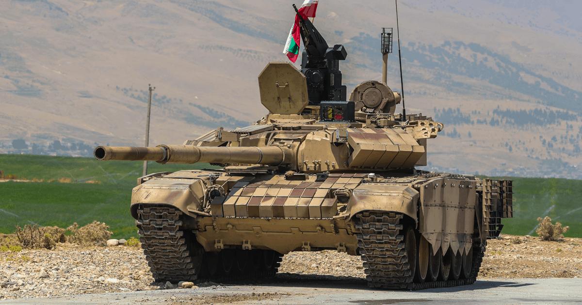 Модернізований танк Т-72 Ірану. Серпень 2020. Фото: ЗМІ Ірану