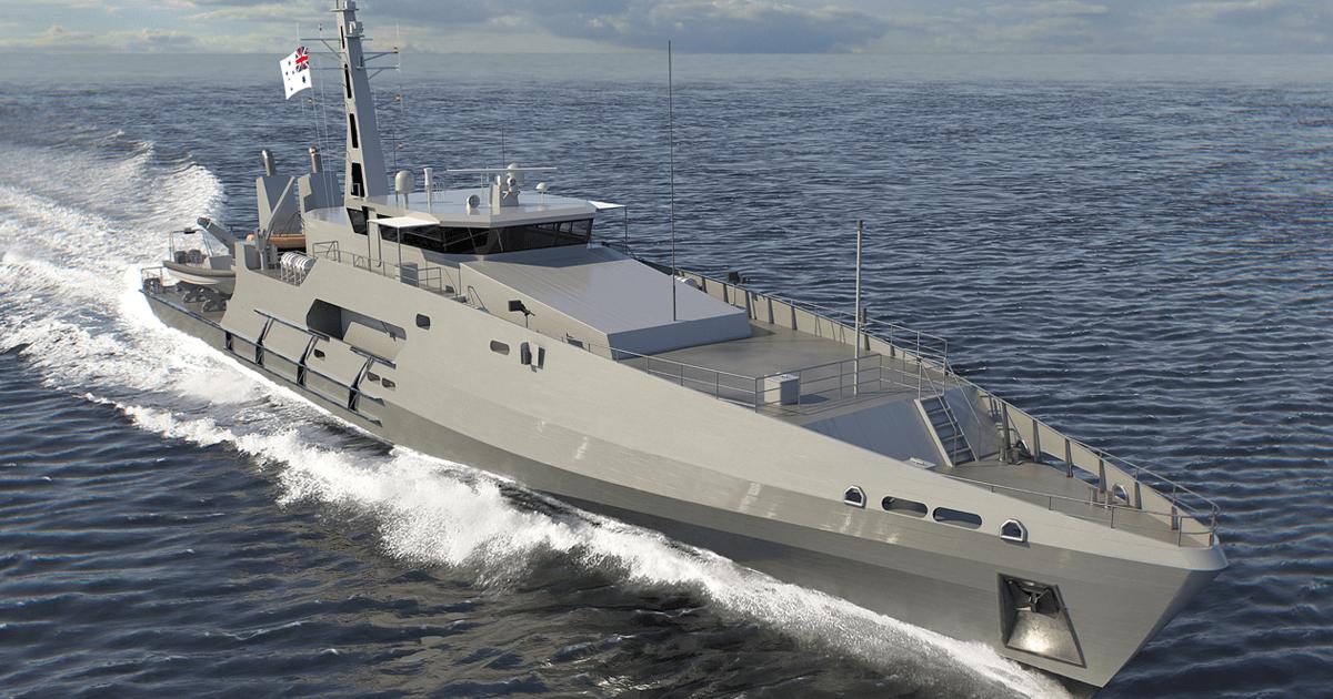 Ілюстрація патрульного корабля класу «Cape»