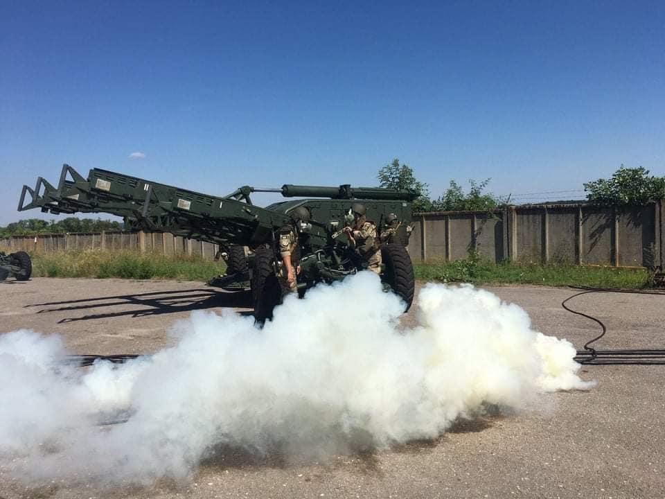 Розгортання пускової установки ЗРК С-125