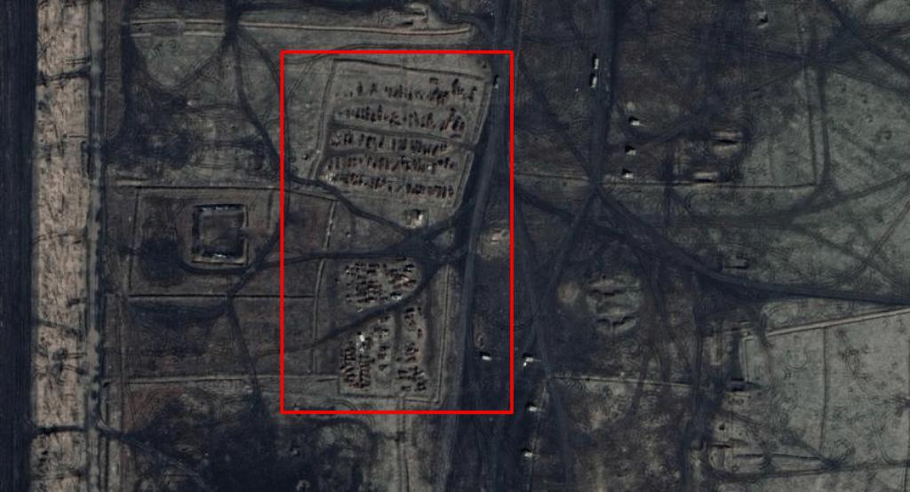 Місце зберігання знищенної техніки Росії у Ростовській області