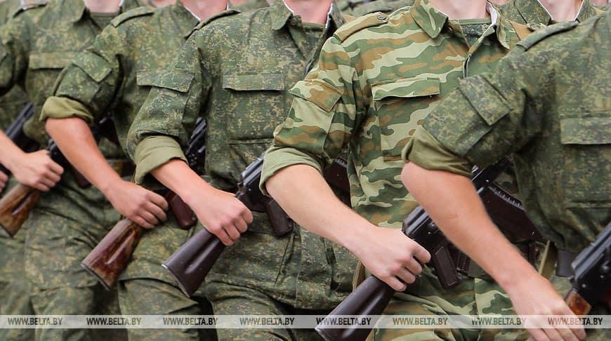 Військовослужбовці білоруської армії