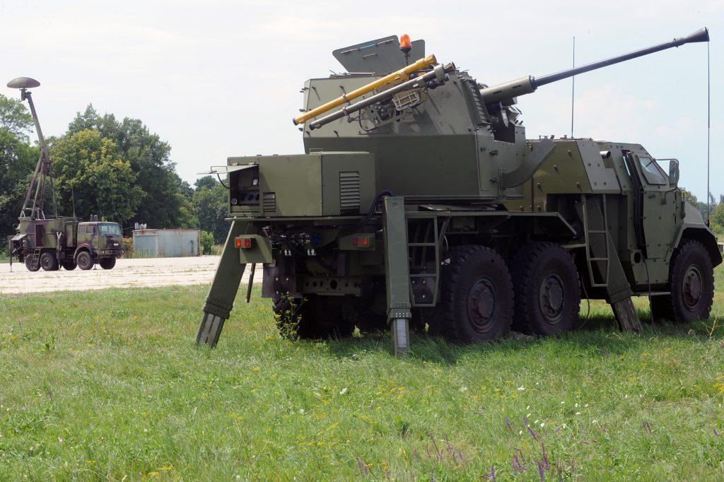 «PASARS-16» з РЛС «Giraffe» Серпень 2020. Фото: Міноборони Сербії