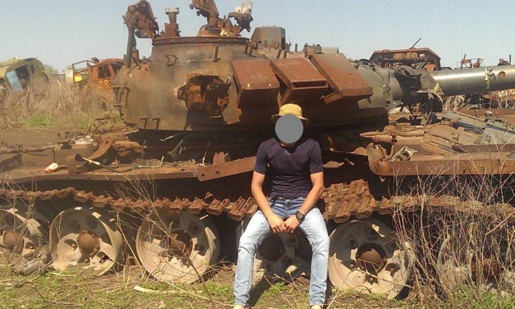 Знищенний Т-72Б3 Російської армії