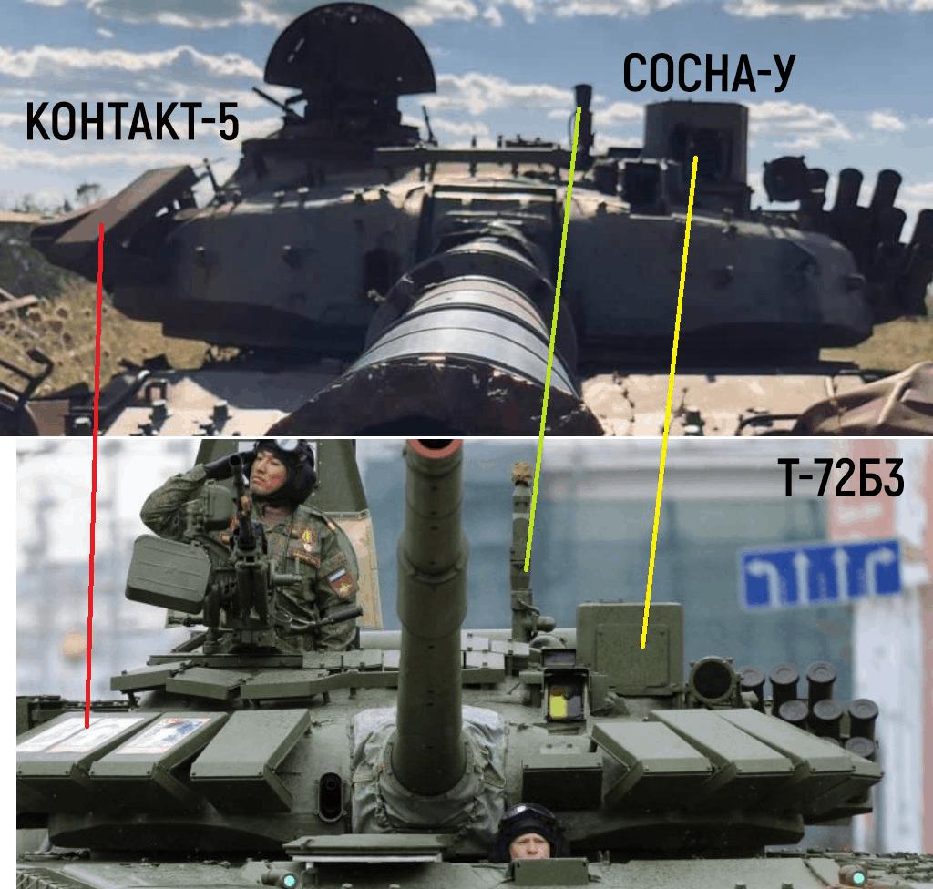Порівняння танків Т-72Б3