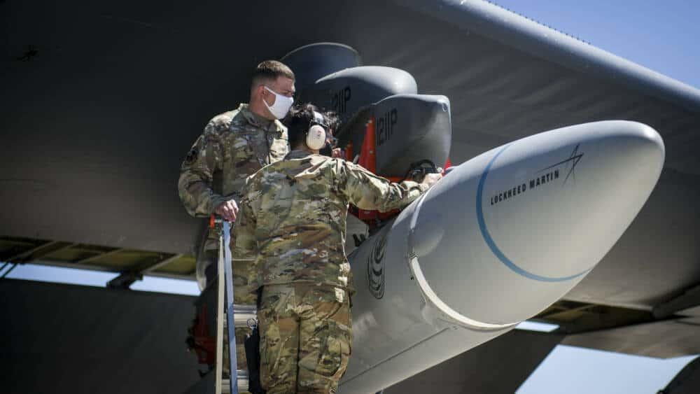 Тести AGM-183A ARRW на B-52H. Серпень 2020. Фото: ПС США