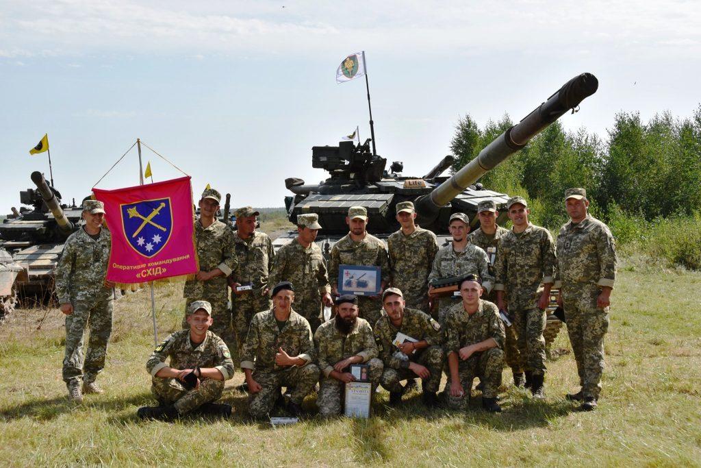 Військові 17 ОТБр. Серпень 2020. Фото: ЗСУ