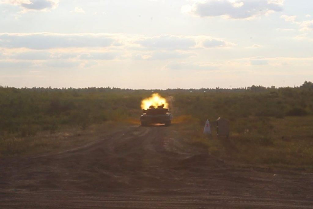 Танк Т-80БВ. Вересень 2020. Фото: 95 ОДШБр