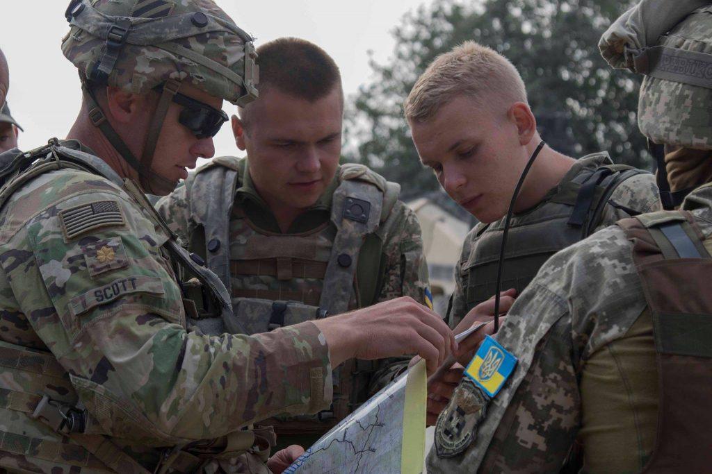 Військові США та України на навчаннях. Вересень 2020. Фото: МО України