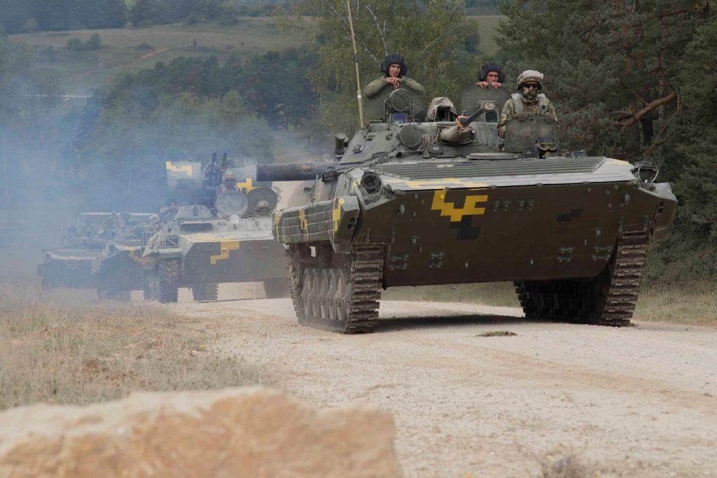 Військові України на навчаннях Combined Resolve. Вересень 2020. Фото: МО України