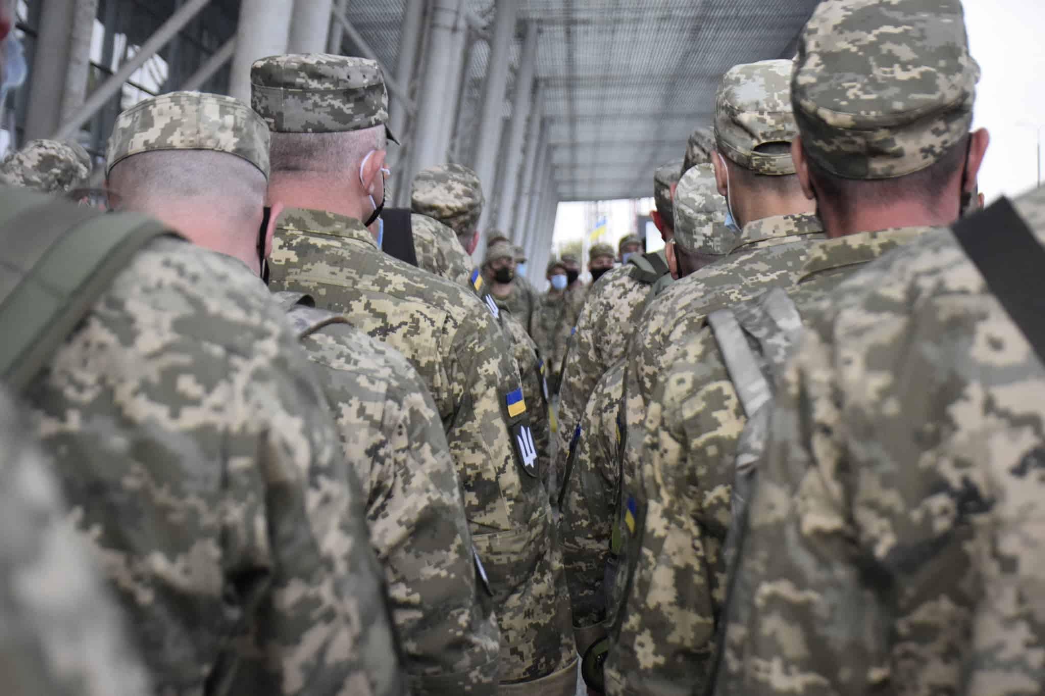 Українські миротворці перед відряджанням у ДР Конго. Вересень 2020. Фото: ЗСУ