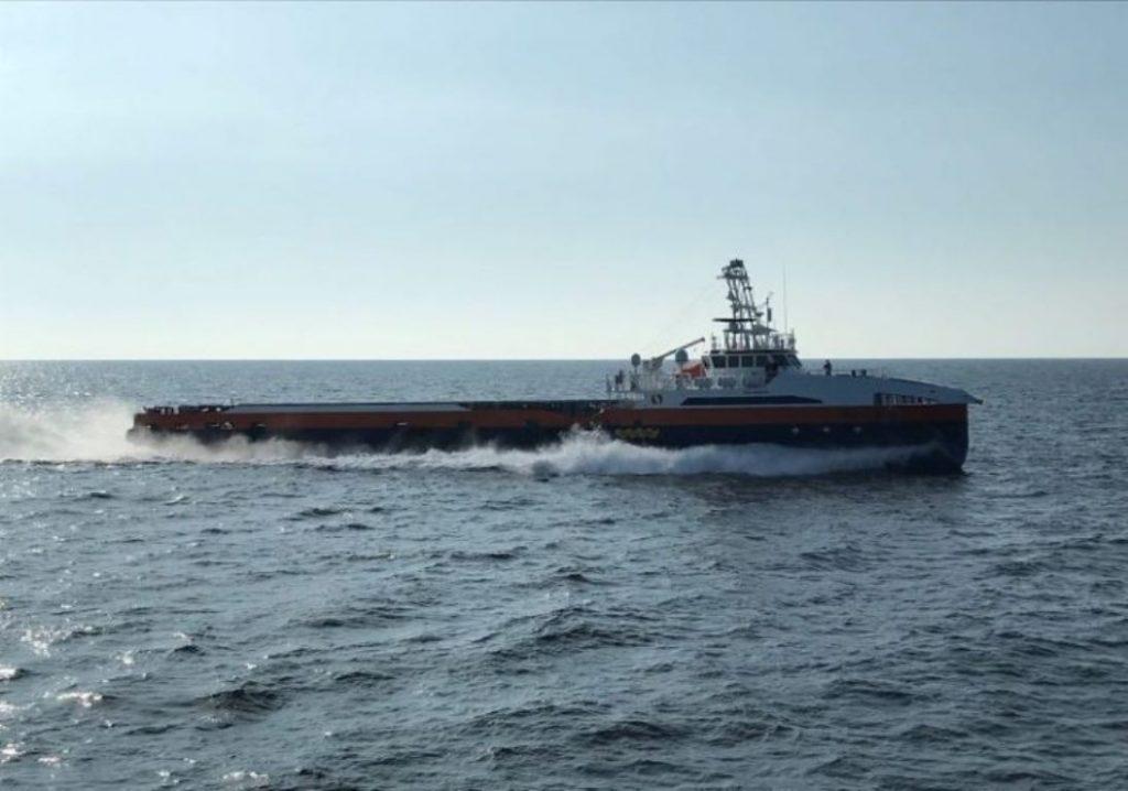 Зразок комерційного судна, роботизований в рамках програми USV