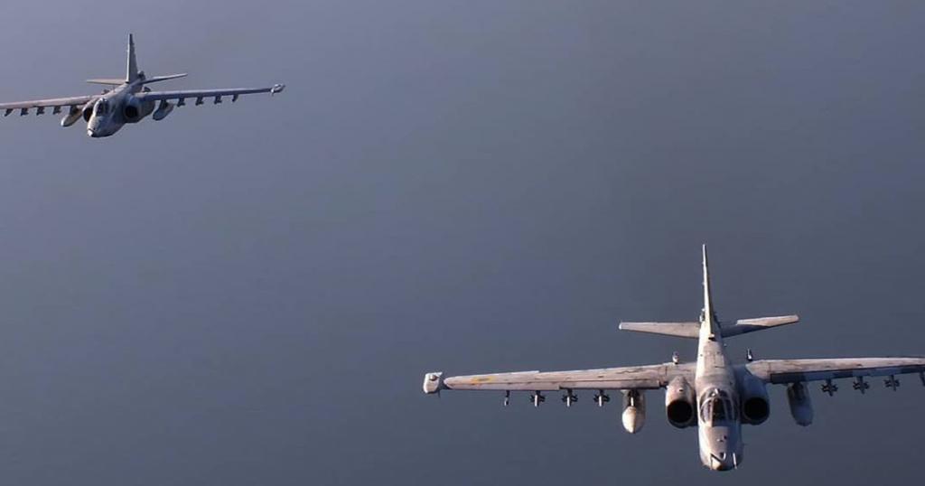 Штурмовики Су-25 ПС ЗСУ. Вересень 2020. Фото: Дмитро Муравський