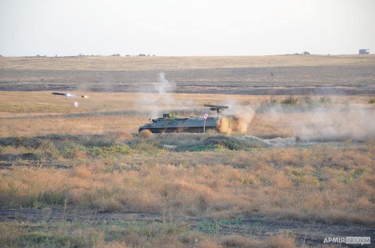 Самохідний ПТРК «Штурм-С» ЗСУ. Вересень 2020. Фото: АрміяInform