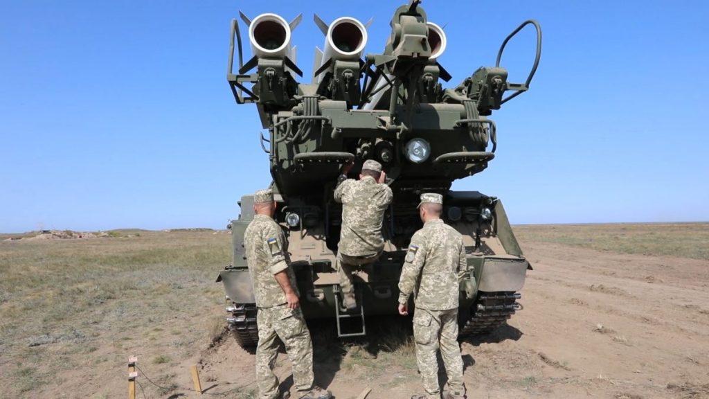 Бук-М1. Підготовка до стрільб. Вересень 2020. Фото: АрміяInform