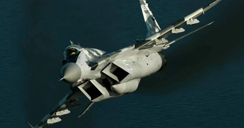Винищувач МіГ-29 ПС ЗСУ. Вересень 2020. Фото: Дмитро Муравський