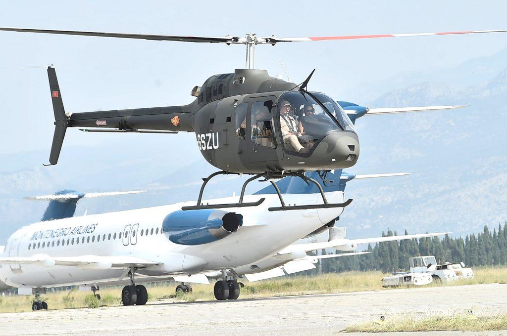 Вертоліт для Чорногорії. Вересень 2020. Фото: МО Чорногорії