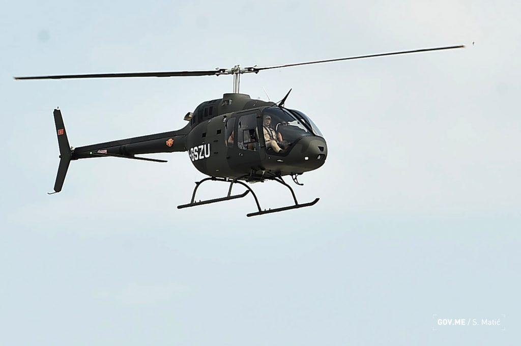 Вертоліт Bell 505 для Чорногорії. Вересень 2020. Фото: МО Чорногорії