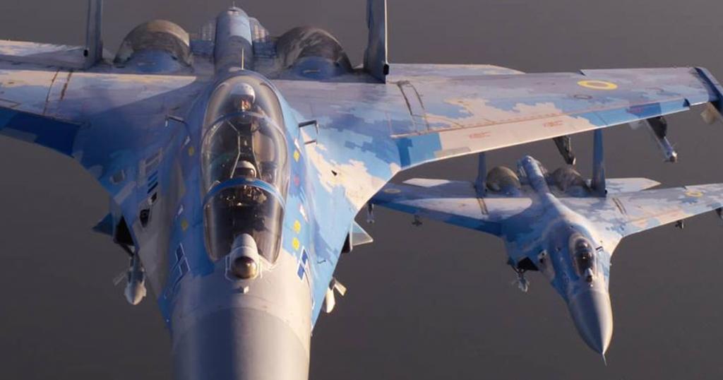 Винищувачі Су-27 ПС ЗСУ. Вересень 2020. Фото: Дмитро Муравський