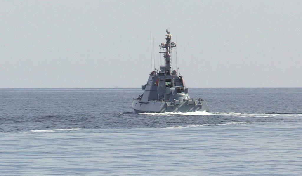 Тренування катерної групи ВМС. Вересень 2020. Фото: АрміяInform