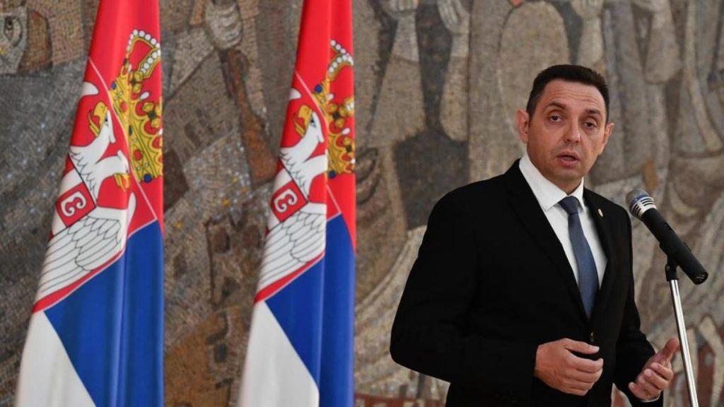 Міністр оборони Сербії Олександр Вулін. Фото з відкритих джерел