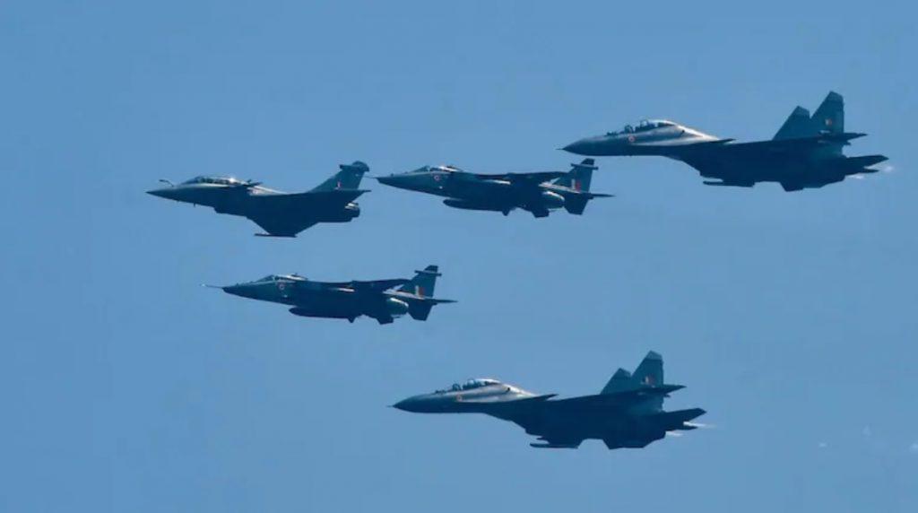 Винищувачі Rafale ВПС Індії. Вересень 2020. Фото: ЗМІ Індії