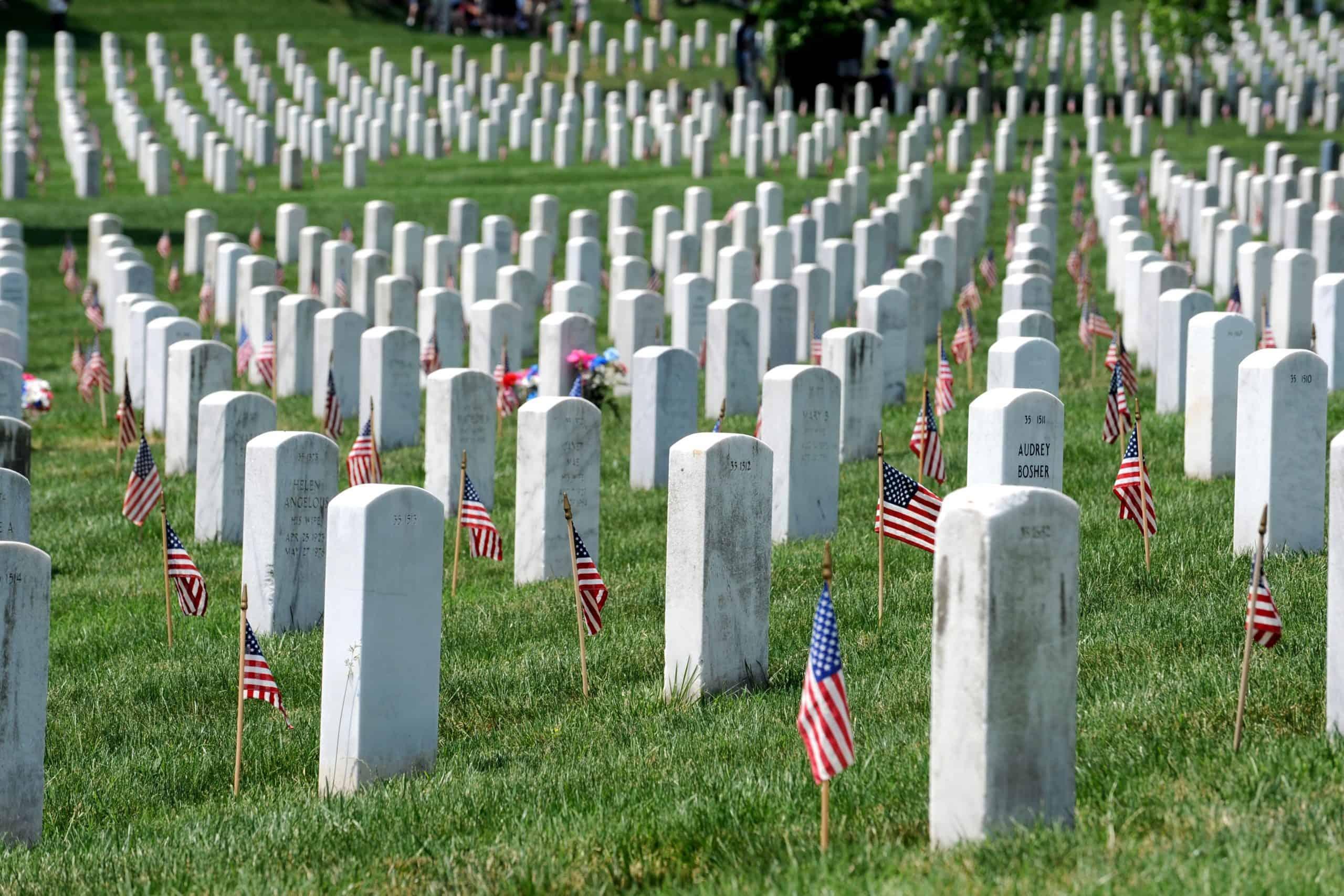 Арлінгтонський національний цвинтар у США