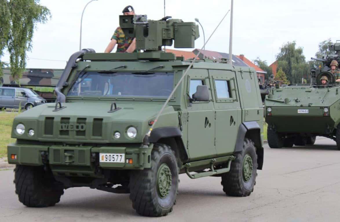 Бронемашина IVECO LMV Lynx. Фото з відкритих джерел