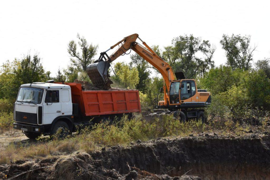 Будівництво нового КПВВ у місті Щастя Луганської області