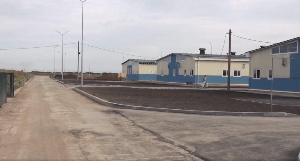 Будівництво стаціонарного бригадного табору на полігоні «Широкий Лан»