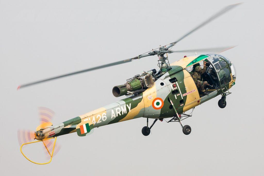 Вертоліт Chetak. Фото з відкритих джерел
