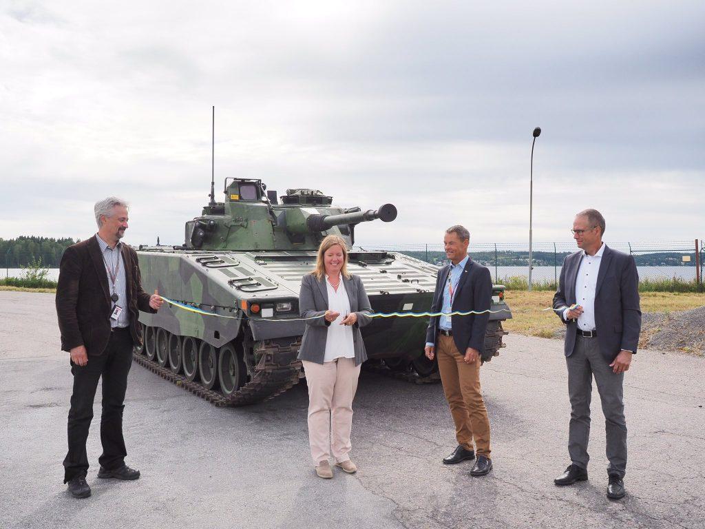 Модернізована бронемашина CV-90 для військ Швеції. Серпень 2020. Фото: BAE Systems