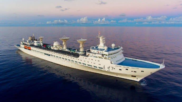 Китайське судно для стеження за космічними польотами «Юаньван-5»