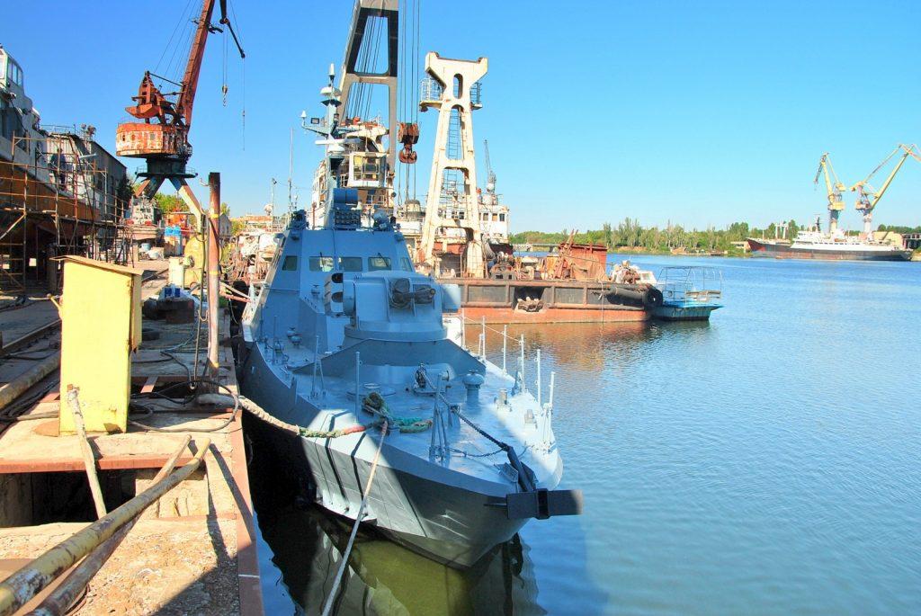 Малий броньований артилерійський катер «Бердянськ» спущено на воду на ДП «Миколаївський суднобудівний завод» після завершення докової частини ремонту
