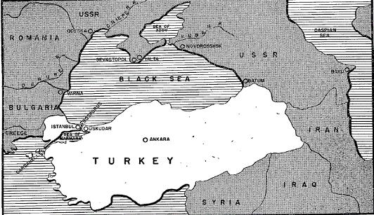 Мапа Чорного моря