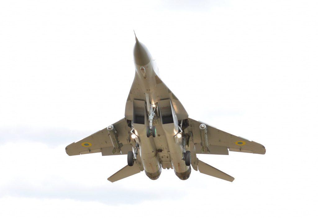 МіГ-29МУ2 з корегованими авіаційними бомбами КАБ-500КР 1