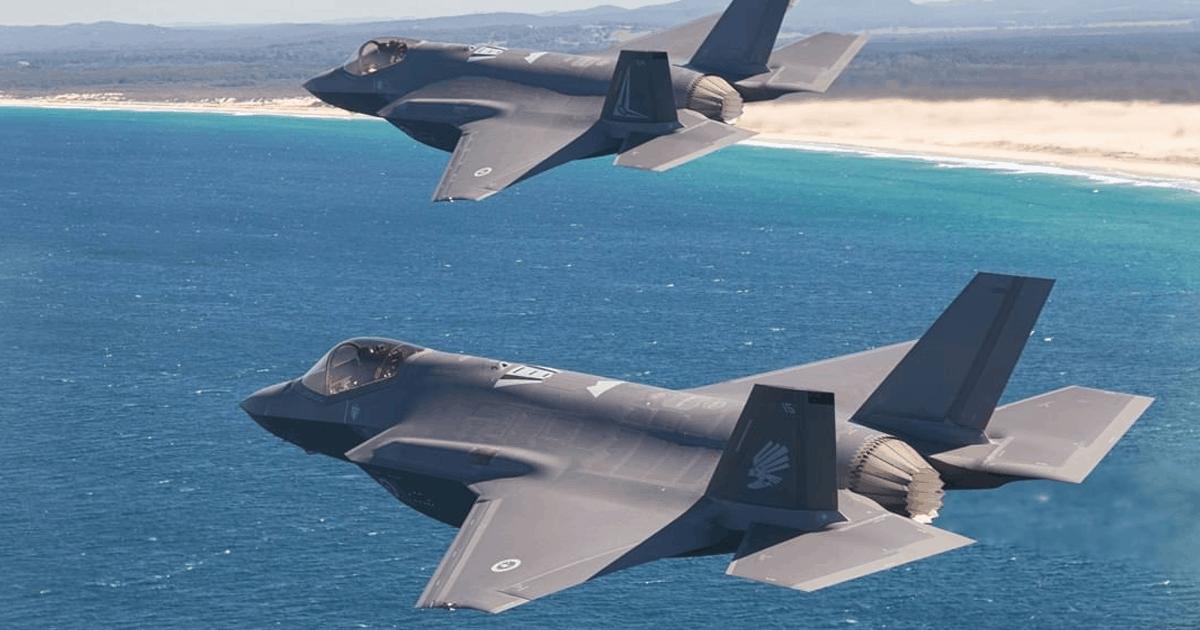 Нові винищувачі F-35 ВПС Австралії. Фото: МО Австралії