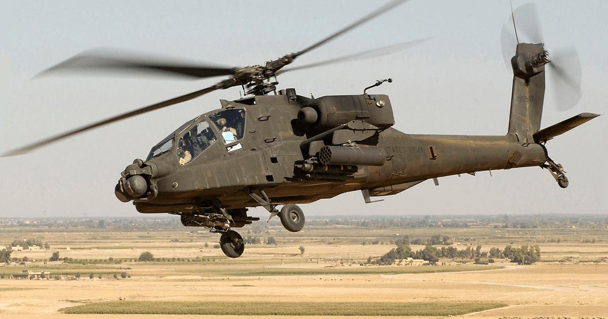 AH-64D «Apache». Фото з відкритих джерел