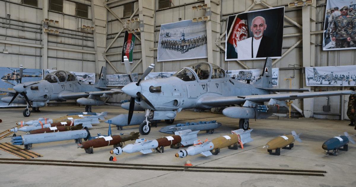 Літаки «Super Tucano» для ВПС Афганістану. Вересень 2020. Фото: ЗМІ Афганістану