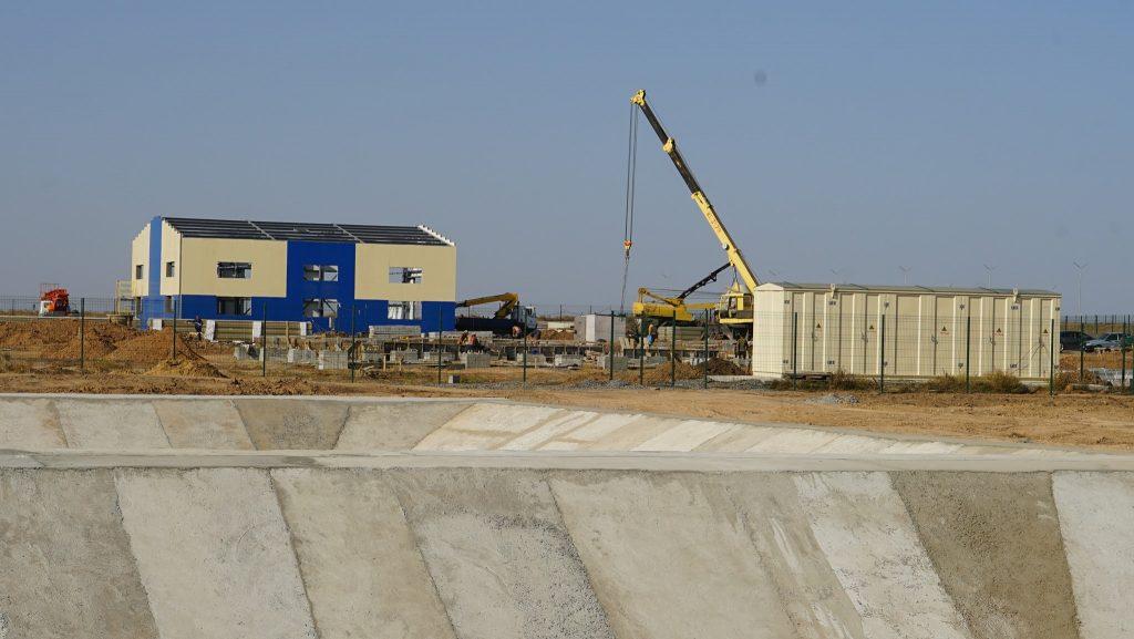 Проведення робіт на інженерних спорудах стаціонарного бригадного табору на полігоні Широкий Лан