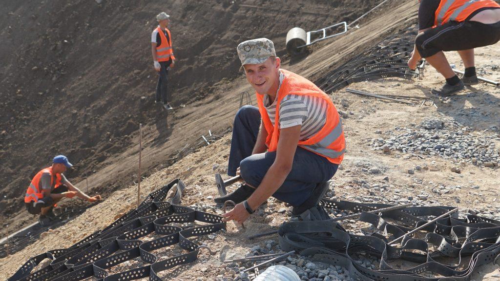 Проведення робіт на очисних спорудах на полігоні Широкий Лан