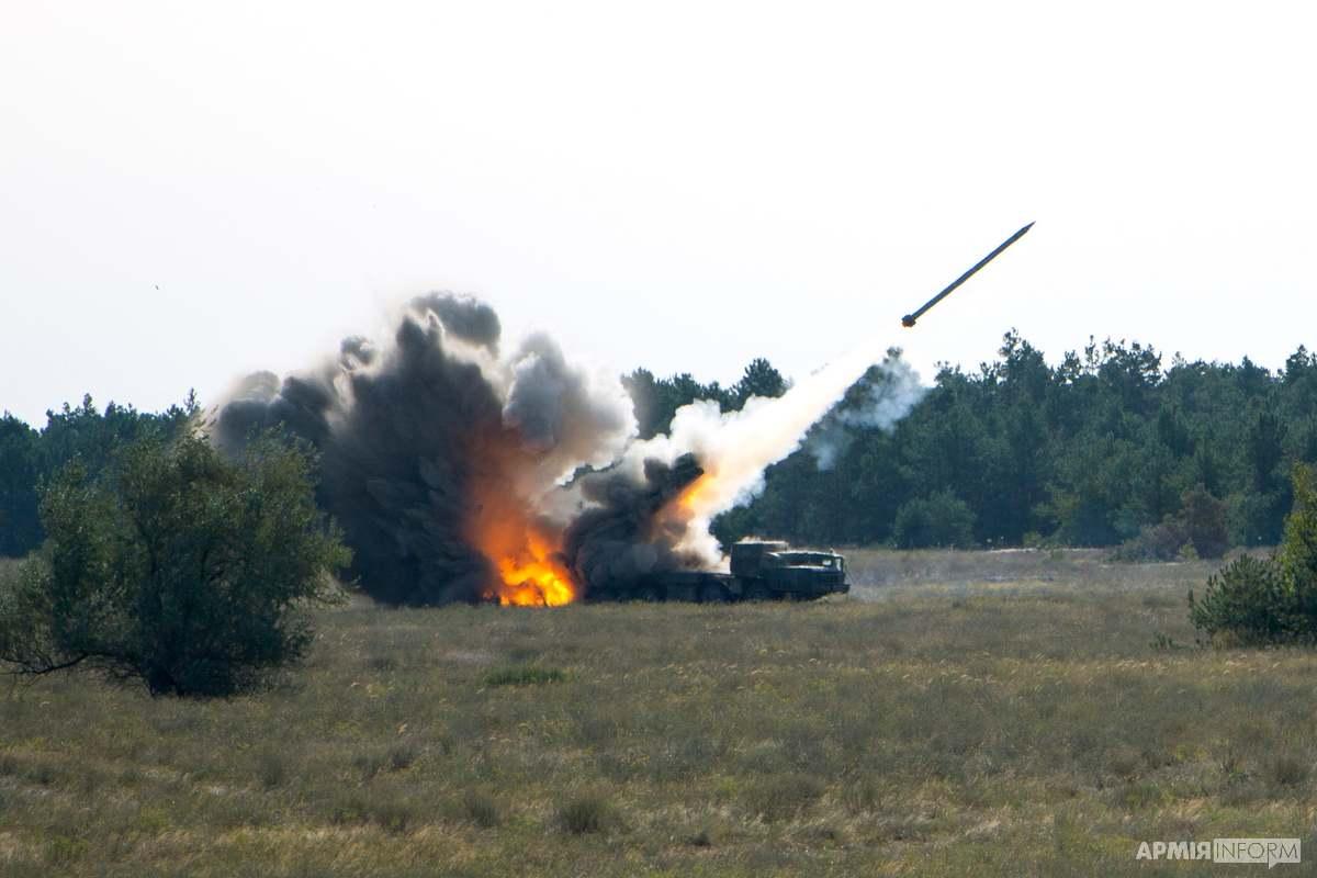 Пуски ракетного комплексу «Вільха» 21 вересня 2020 року