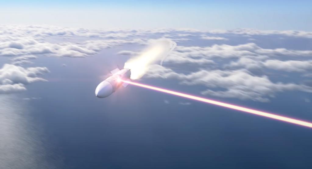 Ілюстрація лазерної системи від Lockheed Martin