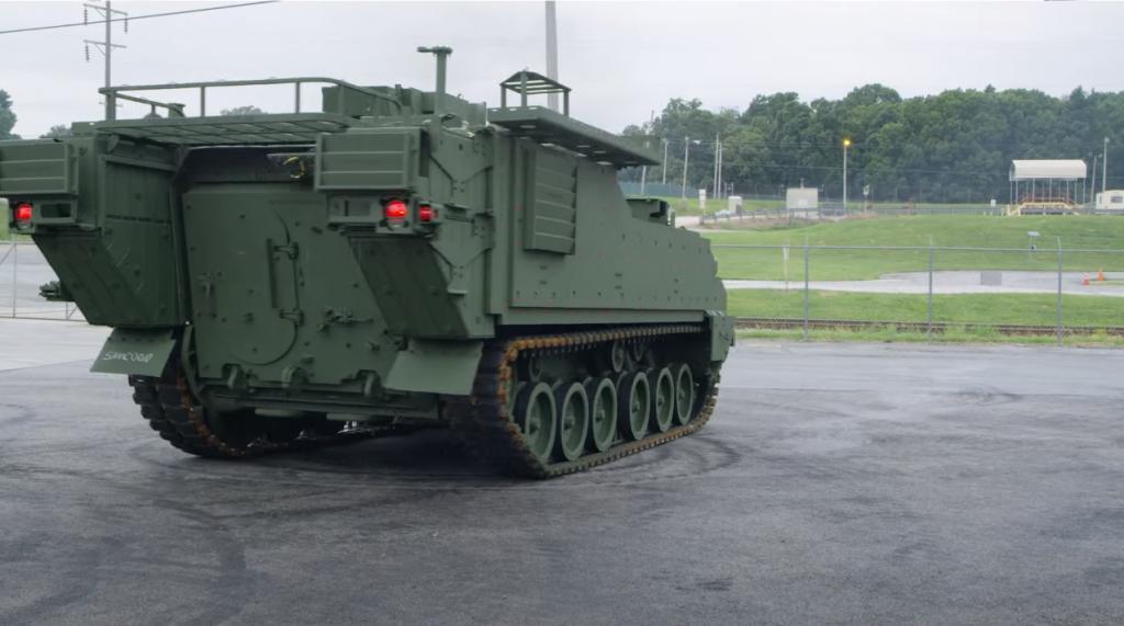 Машина управління AMPV для СВ США. Серпень 2020. Фото: BAE Systems