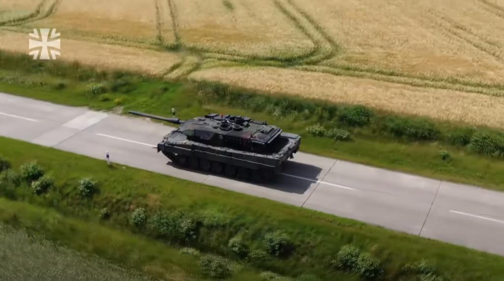 Танк Leopard 2A7V на тестах. Вересень 2020. Фото: Бундесвер